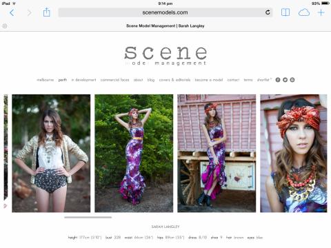 Agency page SARAH