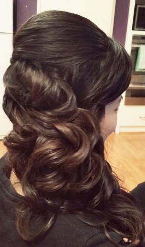 hair side curls