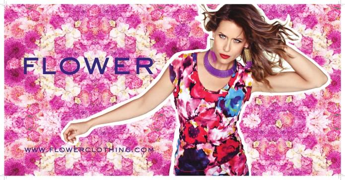 FLOWER PRINT pink Edit